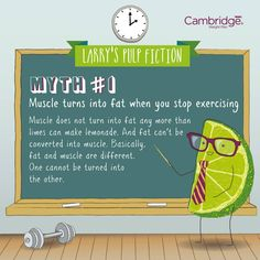Larry's pulp fiction - myth #1. Try CWP new winning flavour shake -key lime pie, it's delicious and a perfect summer flavour