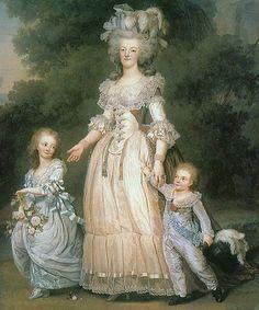 Marie Antoinette 1785                                                       …