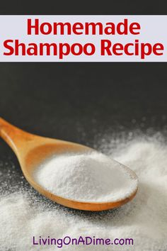 Homemade Shampoo Recipe. Works on the same premise as the really expensive Wen products the movie star endorses on QVC!