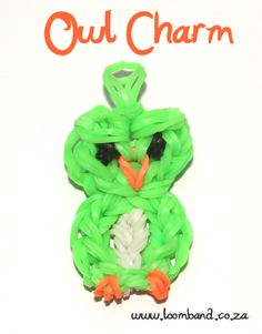 Owl loom band charm tutorial, instructions and videos on hundreds of loom band designs. Shop online for all your looming supplies, delivery anywhere in SA.