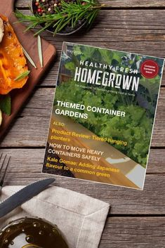 Get the May issue of the Healthy Fresh Homegrown Magazine,the magazine for families growing food at home. Filled with useful tips for container gardening! #containergardening #gardenmagazine Balcony Gardening, Gardening Books, Container Gardening, Planting Vegetables, Growing Vegetables, Vegetable Garden, Fresh Tomato Soup, Railing Planters, Backyard Layout
