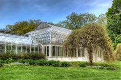 Lamberton Conservatory at the Lilac Festival, Rochester, NY