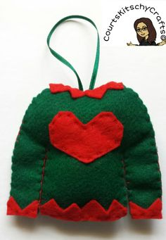 Ugly Christmas Sweater Jingle Bell Rock by CourtsKitschyCrafts on ...