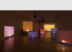 Andrea Galvani, Installation view of The End [Action #1], 2013-2015 Multichannel synchronized video installation. 16mm film transferred to HD. Dimensions variable