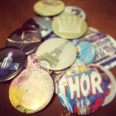 Button-Making is all the rage - Details, policies, what to buy, etc to create a button-making station in your makerspace.