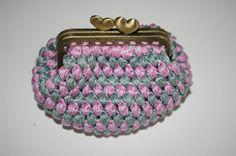 Monedero vintage crochet
