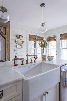 White Kitchen Farmhouse Sink blanco ikon™ silgranit apron front farmhouse kitchen sink