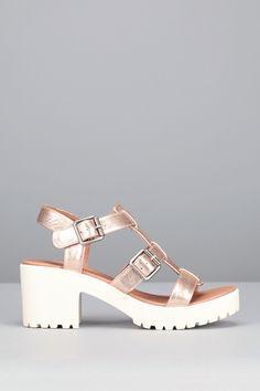 quality design 3bca2 30ab1 Sandales à talons cuir rose cuivré Tango. Adèle Beneyton · Shoes