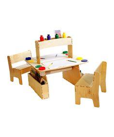 bureau double pour enfants