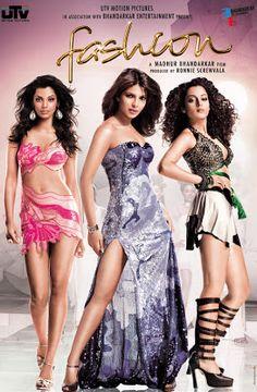 Fashion Hindi Movie Online - Priyanka Chopra, Kangana Ranaut, Mugdha Godse and Samir Soni. Directed by Madhur Bhandarkar. Music by Salim-Sulaiman. Fashion 2008, Fashion Show, Couture Fashion, Mugdha Godse, Hindi Movie Song, Movie Songs, Movie Tv, Hindi Movies Online, Bollywood Posters