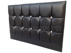 FAUX LEATHER HEADBOARD CRYSTAL DIAMANTE 3FT,4FT,5FT,6FT SINGLE DOUBLE KING