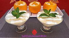 Las dulces tentaciones de Marlen: Mousse de Melón y Naranja