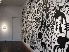 RICK MALLETTE: Wall Drawings