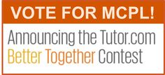Help us make this year's Mana-Con Comic Convention even better!     Vote for Manatee County Public Library in Tutor.com's Better Together contest! This contest will award $1000 to support a library program that nurtures community partnerships.