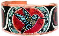 Colorful Handmade Native Jewelry NW Hummingbird Rings