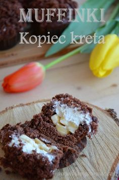 Muffinki Kopiec kreta My Dessert, Food Porn, Cookies, Cake, Crete, Crack Crackers, Biscuits, Kuchen, Cookie Recipes