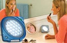 A compact design S.A.D. light therapy device that has multiple adjustable timer to allow to choose your light exposure conveniently www.sadlightzone.com