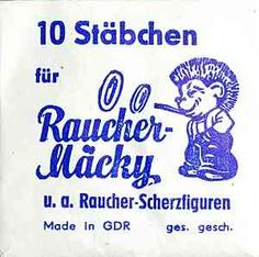 Glimmstengel replenishment: sticks for smoker Mäcky u.a smoker joke . Ddr Museum, Tell No One, Bbq Pitmasters, Family Units, East Germany, Famous Last Words, Ask For Help, Old Paper, Self Esteem