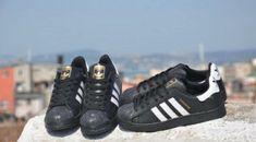 Adidas Superstar Negru Adidas Samba, Adidas Gazelle, Adidas Superstar, Adidas Sneakers, Shoes, Fashion, Moda, Zapatos, Shoes Outlet