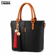 DIZHIGE Brand Fashion Tassel Shoulder Bag High Quality PU Leather Bags Women Handbags Designer Ladies Hand Bags Luxury Sac 2016 #electronicsprojects #electronicsdiy #electronicsgadgets #electronicsdisplay #electronicscircuit #electronicsengineering #electronicsdesign #electronicsorganization #electronicsworkbench #electronicsfor men #electronicshacks #electronicaelectronics #electronicsworkshop #appleelectronics #coolelectronics