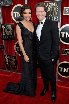 Matthew Morrison y Renee Puente