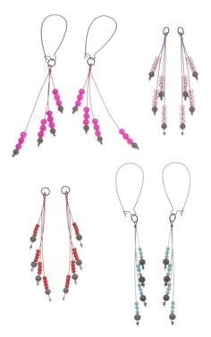 Tutorial - How to: Interchangeable Gunmetal Colorburst Earrings Project | Beadaholique