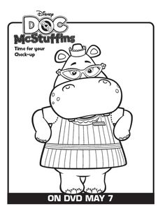 One Savvy Mom™ | NYC Area Mom Blog: 9 Free Disney Doc McStuffins Printable Coloring Pages