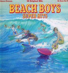Buy The Beach Boys - Super Hits – SL-8114 - Capitol LP Vinyl Record from Wax - Free UK delivery. Rare, collectible & classic vinyl records.