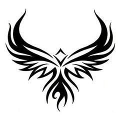 Tribal Eagle Tattoo Art Picture Image - TattooWoo.com