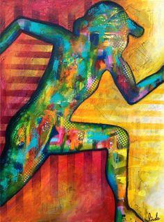 Hyperactive, 2014 Technique mixte sur toile x Prix sur demande Pixel, Creations, Abstract, Figurative, Painting, Art, Paint, Canvas, Summary
