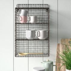 Nkuku Locker Room Shelf  Reviews | Wayfair.co.uk Display Shelves, Storage Shelves, Shelving, Shelf, Industrial Lockers, Industrial Furniture, Industrial Style, Regal Display, Interior