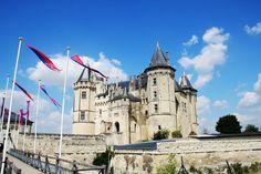 Rutas Mar & Mon: Viaje en coche por Francia, Castillos de Loira, Bretaña y Normandía (6ª Parte) Château de Saumur  #Château #ChâteaudeSaumur #bretagne #normandia #france #loira