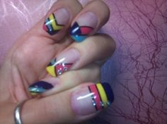 Geometry nails | LUUUX