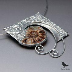 Pravěk a současnost (Amonit) - náhrdelník