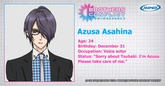 Brothers Conflict.. one of my crush~