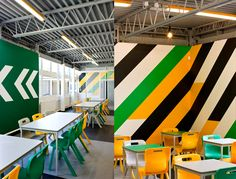 The Applemore College Canteen -pilot project by The School Food Trust via The Cool Hunter - Food