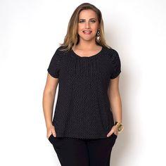 Blusa Plus Size Miriam » Nova Coleção