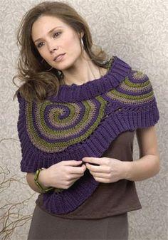 Crochet enchanté: Châle/Xale