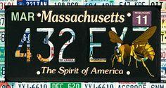 I uploaded new artwork to lanjee-chee.artistwebsites.com! - 'Massachusetts License Plate' - http://lanjee-chee.artistwebsites.com/featured/massachusetts-license-plate-lanjee-chee.html