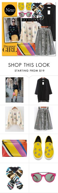 """""""Romwe 1o"""" by e-mina-87 ❤ liked on Polyvore featuring Loewe and Givenchy"""