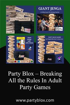 Largest Giant Drinking Game Available on the market! Similar to Drunk Jenga this game is popular at outdoor bars, backyard barbeques, camping trips, and anywhere people like to have fun. Jenga Drinking Game, Movie Drinking Games, Outdoor Yard Games, Outdoor Bars, Game Ideas, Party Ideas, Drunk Jenga, Creating Games, Giant Jenga