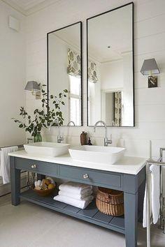 90 hermosas ideas de remodelación del baño de la granja - HomeSpecially - #granja #hermosas #homespecially #Ideas #remodelacion