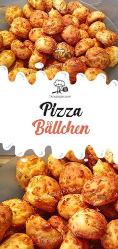 Pizza Bällchen Pizza Bällchen Rezepte The post Pizza Bällchen appeared first on Fingerfood Rezepte. Pizza Ball, Pizza Hut, Sandwich Recipes, Pizza Recipes, Salad Recipes, Healthy Recipes, Pizza Snacks, Snacks Sains, Snacks