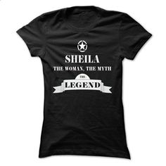 SHEILA, the woman, the myth, the legend - #free t shirt #hoddies. CHECK PRICE => https://www.sunfrog.com/Names/SHEILA-the-woman-the-myth-the-legend-mhwtihknrz-Ladies.html?60505