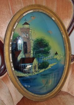 1000 Images About Reverse Painting On Bubble Glass On