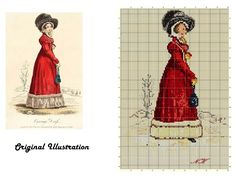 """""""A Victorian Lady on a Snowy Day"""" An adaptation - trial!"""