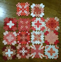 all the lucy blocks so far | Flickr - Photo Sharing!