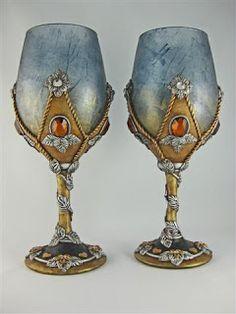 Kismet Clay Designs: Medieval Style Goblet Set