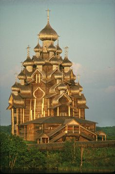Vologda Photo by William Craft Brumfield, Professor of Slavic studies at Tulane University.