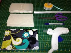 Baby Wipes case cover tutorial.